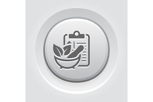 Herbal Medicine Flat Icon
