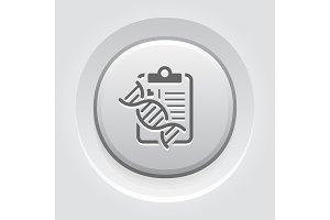 DNA Testing Flat Icon