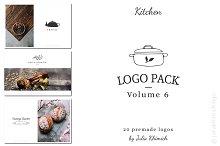Logo Pack Volume 6. Kitchen