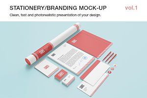 Stationery / Branding Mock-up  vol.1