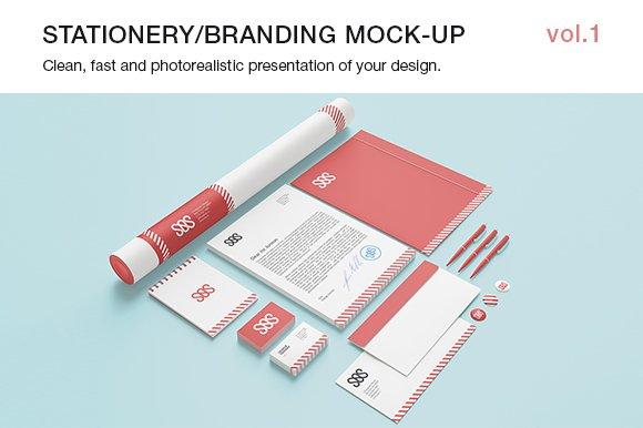 Stationery / Branding Mock-up  vol.1
