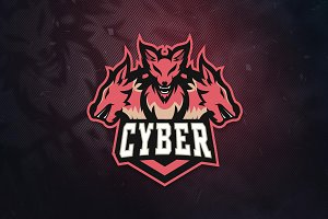 Cyber Sports & E-Sports Logo