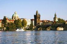 Charles Bridge.Prague,Czech Republic