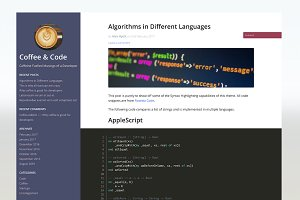 DevUp - Responsive Developer Blog