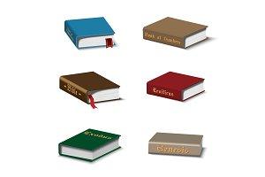 Holy books set
