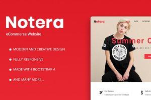 Notera – Fashion eCommerce Bootstrap