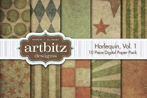 Harlequin V1 Digital Paper