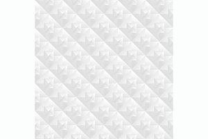 Vector geometric white pattern set