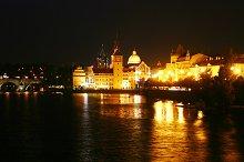 Night Prague. Czech Republic