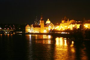 Night Prague. Czech Republic