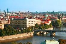 Bridges of Prague. Czech Republic