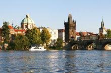 Prague panorama view