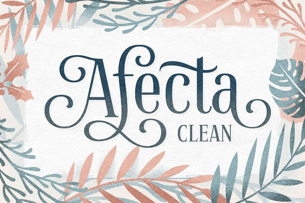 Fonts - Afecta Clean (30% OFF)