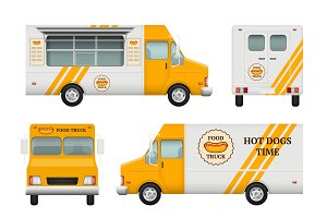 Mobile restaurant identity. Business