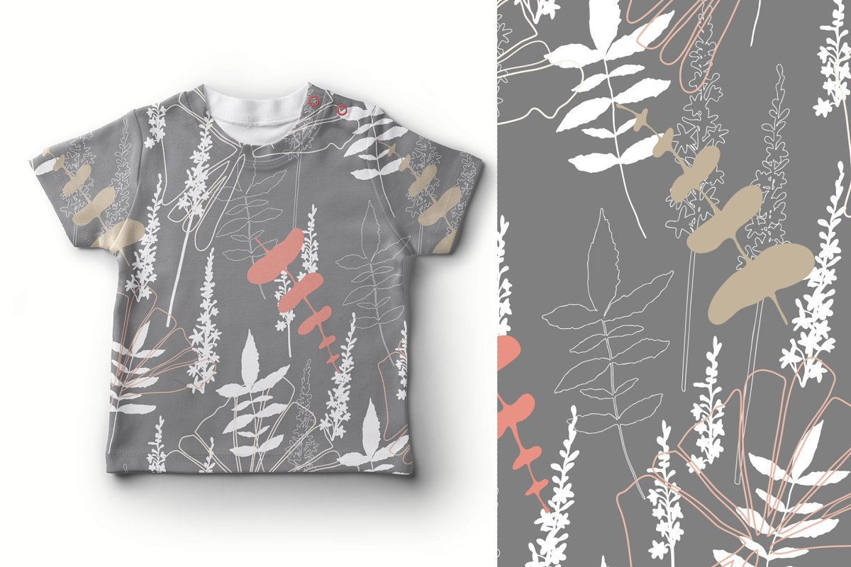 12 Floral tropical patterns in Patterns - product preview 2