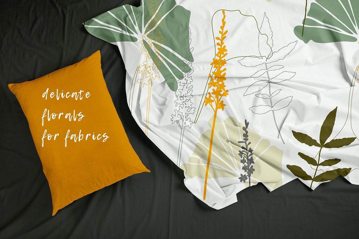 12 Floral tropical patterns in Patterns - product preview 3