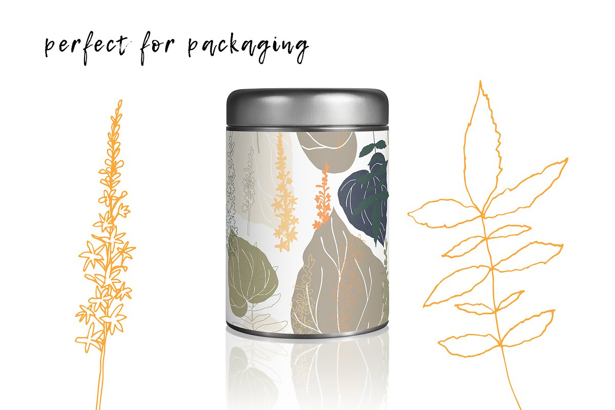 12 Floral tropical patterns in Patterns - product preview 1