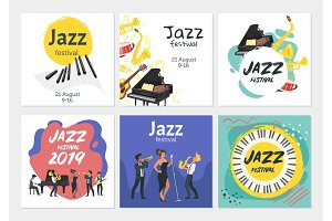 Jazz poster backgroun