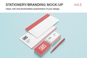 Stationery / Branding Mock-up vol.2