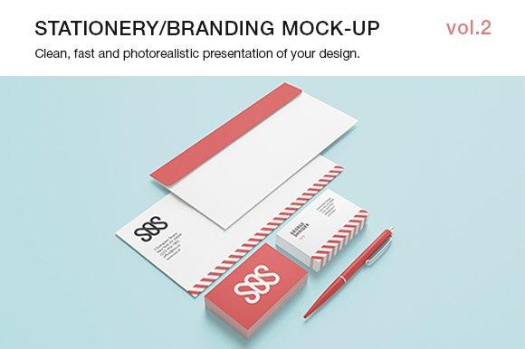 Stationery / Branding Mock-up vol.2 - Product Mockups