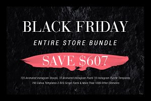 Black Friday - Entire Shop 92% OFF