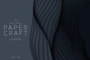 Paper Craft 10 Dark Backgrounds