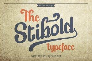 Stibold Typeface