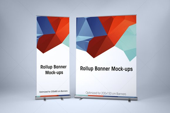Download ROLLUP BANNER MOCK-UP