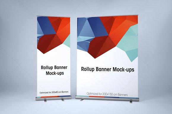 Download ROLLUP BANNER MOCK-UP