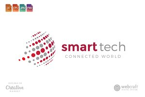 Smart Tech Logo Template