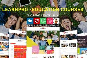 Learnpro - Education Courses Theme