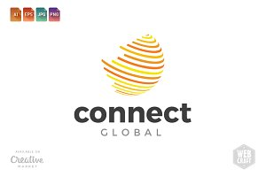 Connect Global Logo Template 2