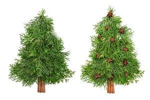 Stylish Christmas tree spices Creati