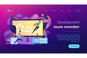 Agile project managementconcept