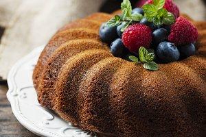 Rustic bundt cake