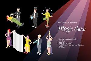 Magic Show Isometric