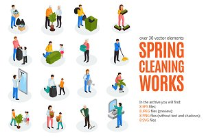 Spring Cleaning Works Set
