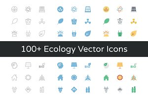 100+ Ecology Vector Icons