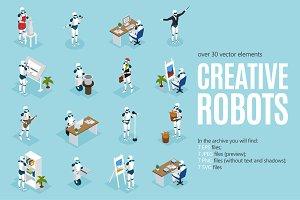 Creative Robots Isometric