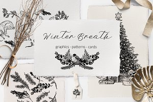 WINTER BREATH. Graphic Collection