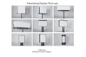 Advertising Display Mockups