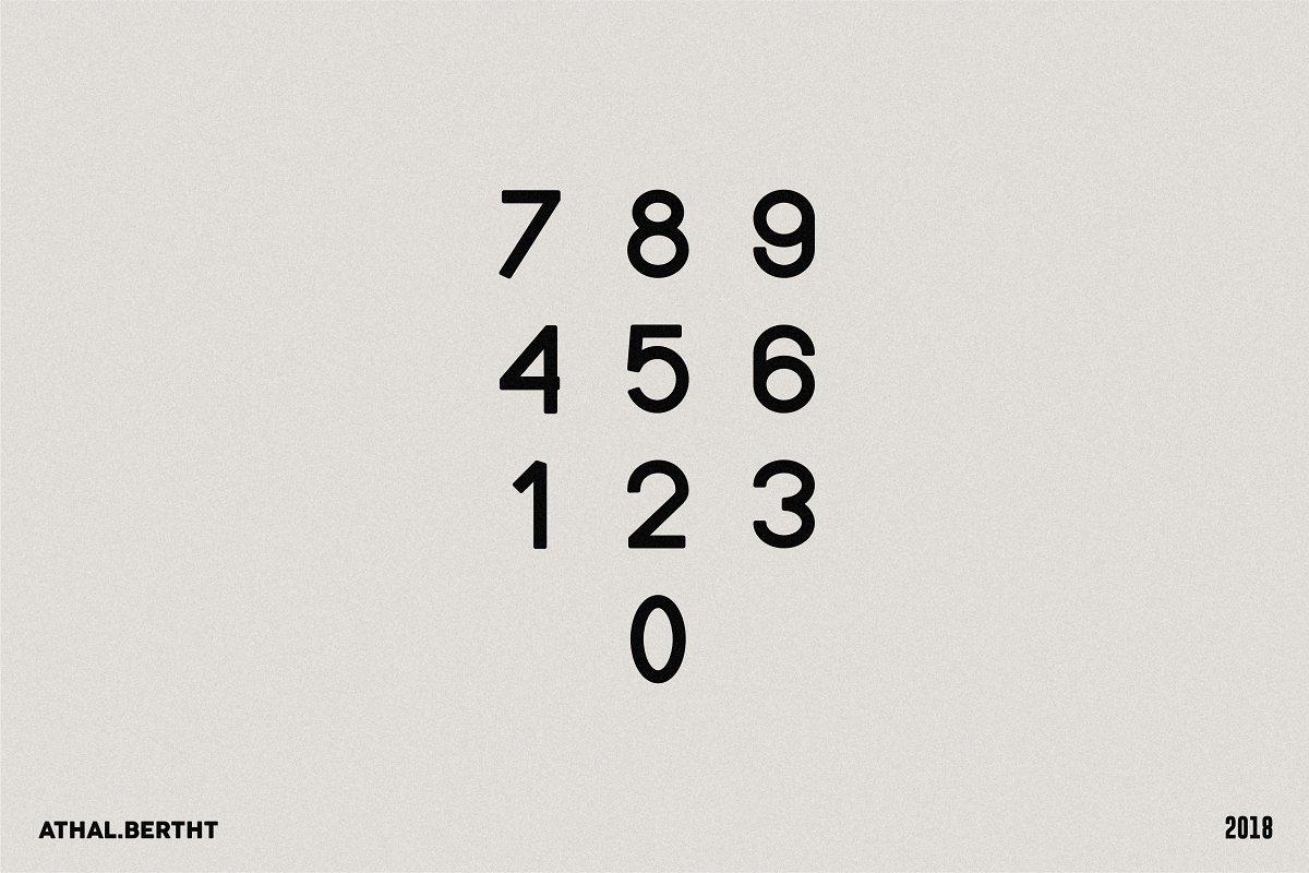 Acatisia regular | An elegant font