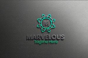 Marvelous - Letter M Logo