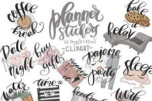 Planner Stickers Collection Kit
