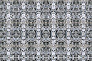 Cobblestone Seamless Pattern Motif
