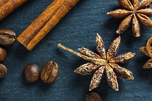 Ingredients: anise star, cinnamon st