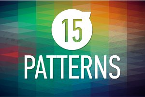15 Geometric Vector Patterns
