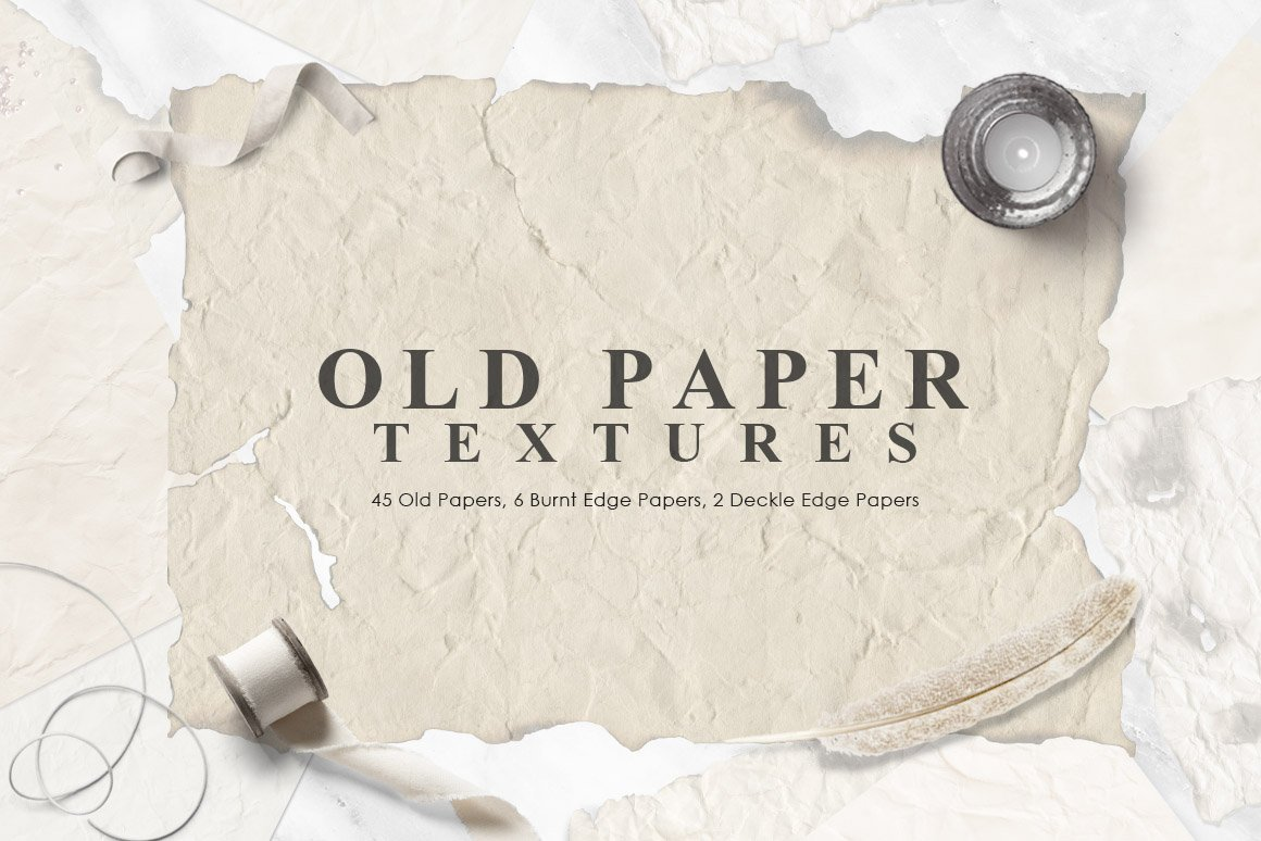 Old Paper Textures | Pre-Designed Photoshop Graphics ~ Creative Market