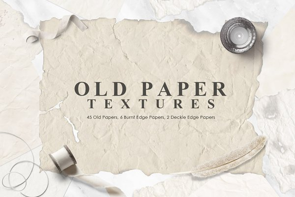 Textures: NassyArt - Old Paper Textures