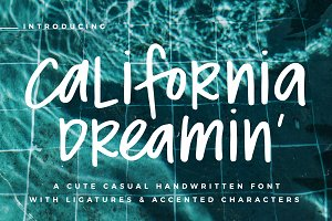 California Dreamin' Font